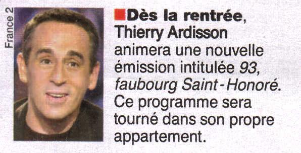 Extrait De La Revue Belge Le Moustique Date Du 23 07 2003